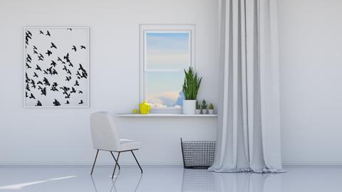 Gazing outside - Minimal - Dining room  - by HenkRetro1960