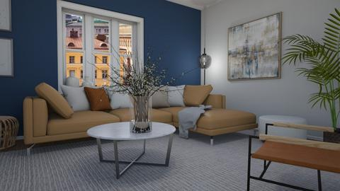 Corner sofa - Living room  - by Tuija