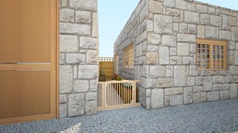 Small side garden exit - Eclectic - Garden  - by mmt_regina_nox