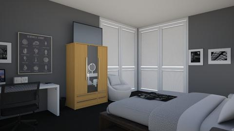 My Room at the Stark Towe - Modern - Bedroom  - by AmyHollister