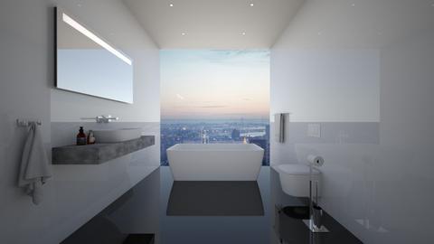 NY Bathroom - Modern - Bathroom - by deleted_1594051217_athinaste89