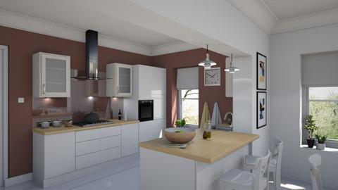 Amalia - Modern - Kitchen  - by Claudia Correia