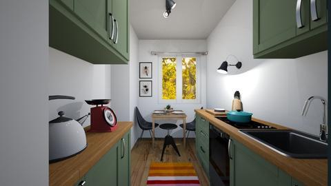 Adrian kitchen MASA - Kitchen  - by anne_3x