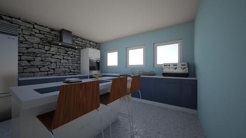 Greek Kitchen - Global - Kitchen  - by reena_loughery