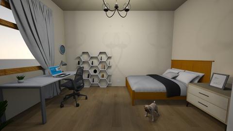 Damian Maria - Classic - Bedroom  - by Maria Damian