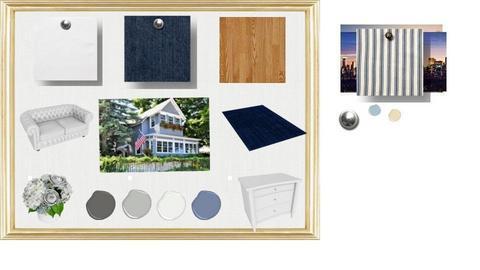Old blue house - by SadieRose