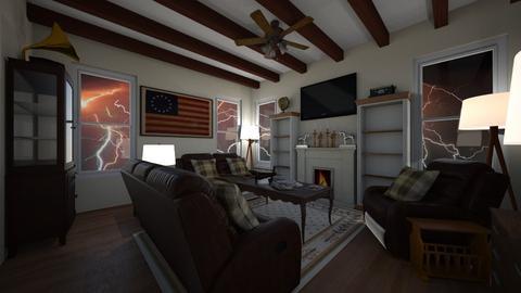 Cuddle Weather - Living room  - by SammyJPili