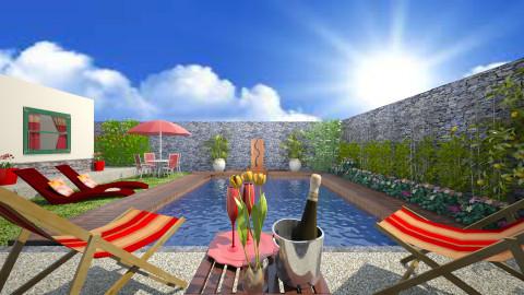 My Backyard 2 - Modern - Garden  - by Joao M Palla