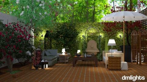 Mediterranean  - Garden  - by DMLights-user-997247