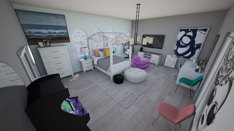 Cute girls room - Bedroom  - by Chayjerad