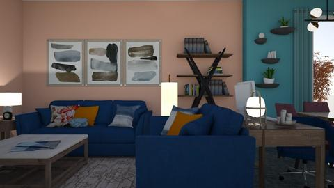 3 20 20 - Living room - by Sandra Janeth