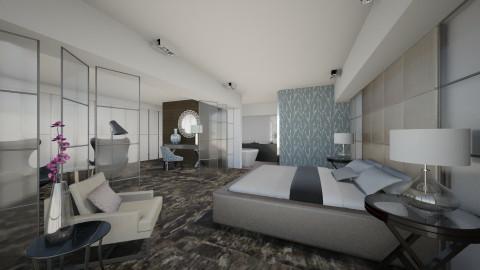 Van der Valk Glas - Modern - Bedroom  - by fre82