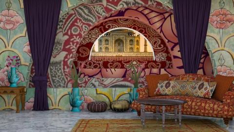 living in India - Living room  - by iope