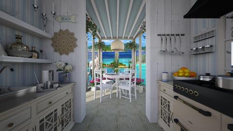 Design 361 Kitchen Conservatory on Beach - Kitchen  - by Daisy320