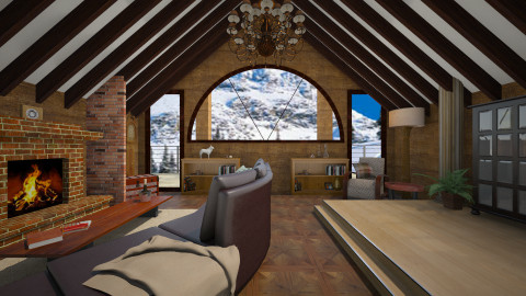 ski lodge - Country - by donella