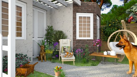 lovely outdoor - Garden  - by Inna_Inas