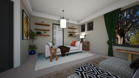 Rypien 2 - Living room  - by louisdhe