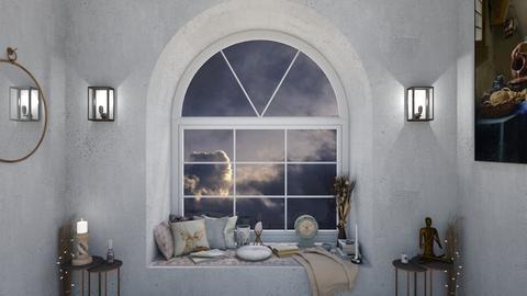 Old Style - Living room  - by karisahsalim