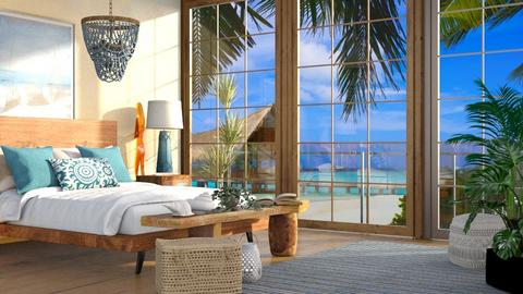 beach bedroom - Bedroom  - by Sirtzuu93