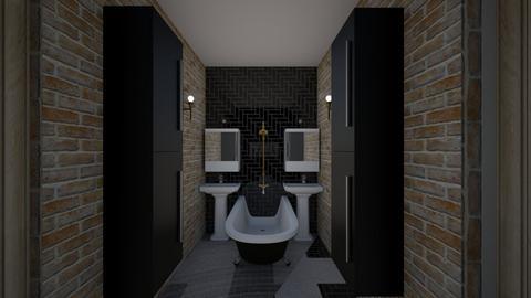 Cosy apartment Bathroom - Bathroom  - by MackenziePaige