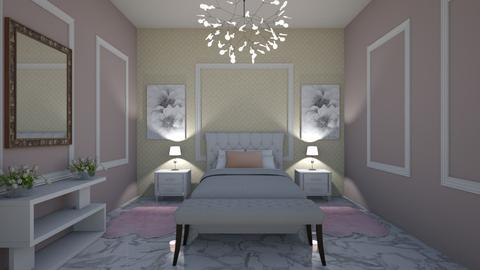pink - Bedroom - by roua