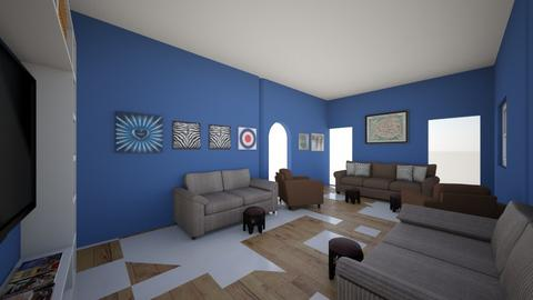 Final1 - Living room  - by ahmed1234
