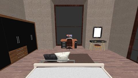 La mierda - Rustic - Bedroom  - by snwildrose