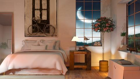 Night Sky Bedroom  - Country - Bedroom  - by Sally Simpson