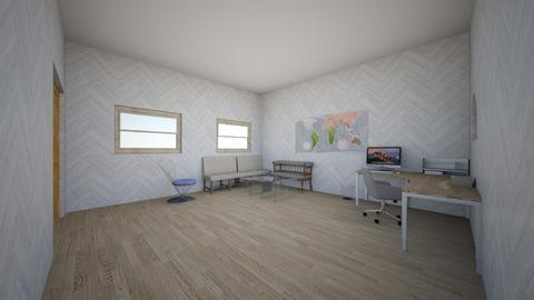 wooden office - Modern - Office  - by Mikayla Ryann