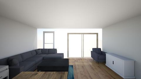 Apartment - Living room - by kkibitlewski