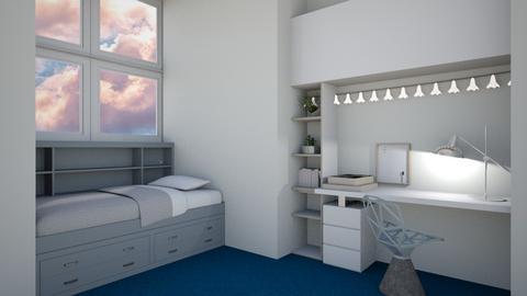 Small Bedroom - Modern - Bedroom  - by kaede11