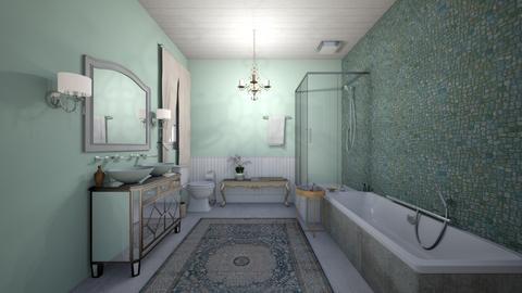 Mint - Bedroom - by rebeca_scmoraes