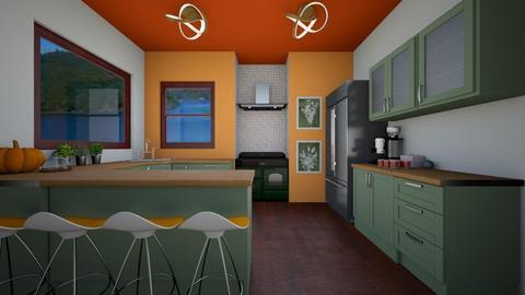 Autumn Stew - Kitchen  - by Nikki Lipstick