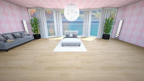 modern sun room - Living room  - by kamonela09