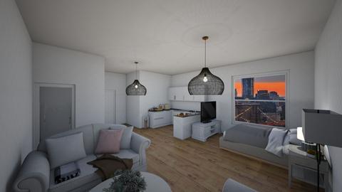 apartment  - Living room  - by natalieeyauu