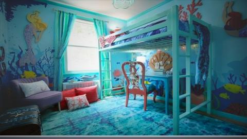 bunk bed room - by cb28026