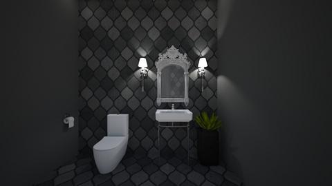 Sparkling Guest Bathroom - Feminine - Bathroom - by nicquo40
