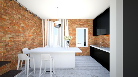 polysk - Retro - Kitchen  - by ewcia11115555