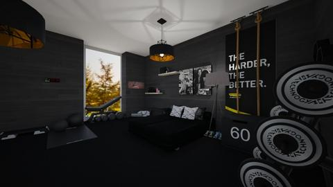 21thegirlssportsroom - Bedroom  - by tyran26