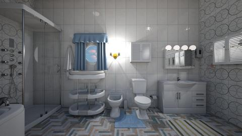 Blue Bathroom - Bathroom  - by mspence03