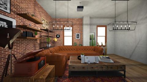salon - Living room  - by berkaycim
