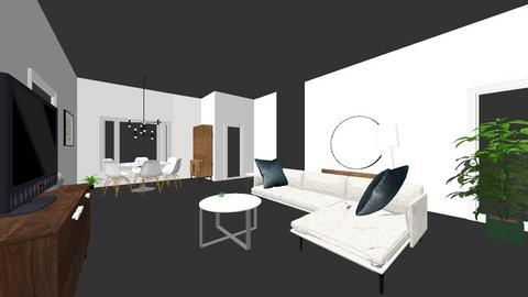 New244 - Modern - Living room  - by conway69