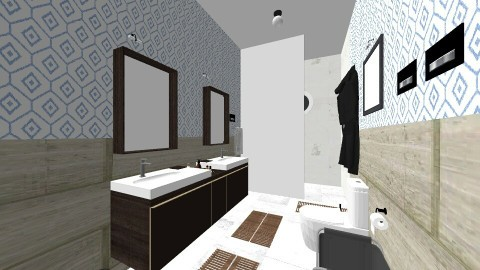 bath mininal - Bathroom - by renne
