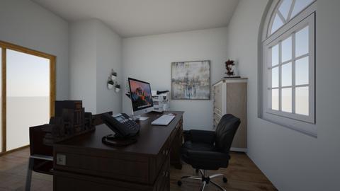 mi oficina - Office  - by elisa91