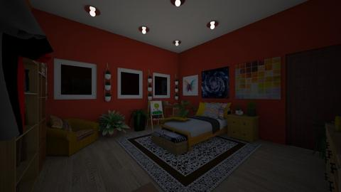 hippiee - Bedroom  - by hvvs14