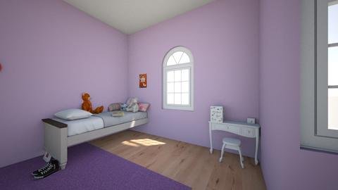 I dont know - Kids room  - by I like pink and pale blue