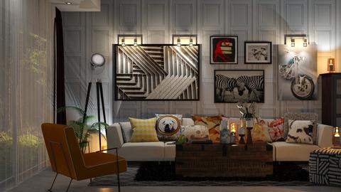 Modern - Living room  - by zarky