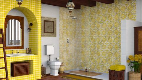 Senape - Bathroom  - by Charipis home