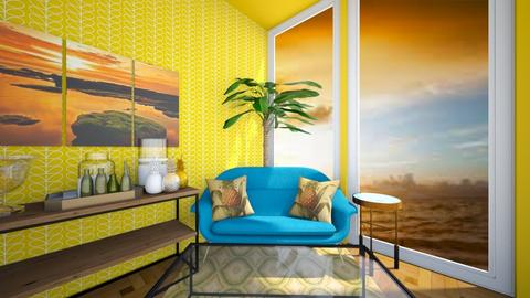 Pineapple - Living room  - by JusticeCABLE