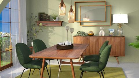 M_Beetle - Dining room  - by milyca8